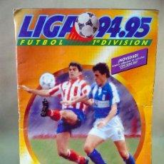 Coleccionismo deportivo: ALBUM DE CROMOS, FUTBOL, LIGA 94 - 95, 1994 - 1995, ESTE. Lote 28575711