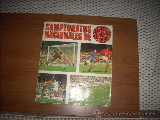 ALBUM DE LA LIGA 1971-72 DE RUIZ ROMERO (Coleccionismo Deportivo - Álbumes y Cromos de Deportes - Álbumes de Fútbol Incompletos)