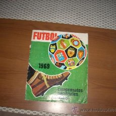Coleccionismo deportivo: ALBUM DE LA LIGA 1968-69 DE RUIZ ROMERO. Lote 28503326