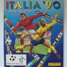 Coleccionismo deportivo: ALBUM CROMOS FUTBOL ITALIA 90 PANINI- INCOMPLETO . Lote 28588378
