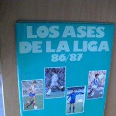 Coleccionismo deportivo: ALBUM INCOMPLETO,LIGA 86-87 DE AS, . Lote 28599826