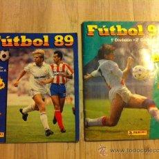 Coleccionismo deportivo: LOTE ALBUM CROMOS FUTBOL PANINI 89 Y 90. Lote 28817570