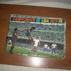 Coleccionismo deportivo: ALBUM DE LA LIGA 1973-74 DE FHER CON POSTER CENTRAL. Lote 28899432