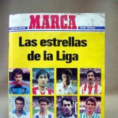 Coleccionismo deportivo: ALBUM MARCA, LAS ESTRELLAS DE LA LIGA, 1986 - 1987, 86 - 87, INCOMPLETO, SOLO FALTAN 14 CROMOS. Lote 53725310