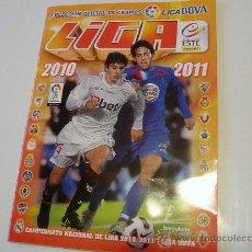 Coleccionismo deportivo: ALBUM FUTBOL LIGA ESTE 2010 2011 TIENE 212 CROMOS PEGADOS. Lote 29192568