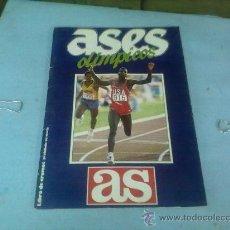 Coleccionismo deportivo: ALBUM DE CROMOS ASES OLIMPICOS,AS INCOMPLETO. Lote 29349358