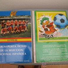 Coleccionismo deportivo: ALBUM FUTBOL PLADEMER ESPAÑA 82 VACÍO . Lote 105928095