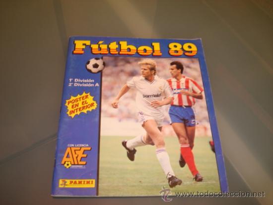 ALBUM CROMOS LIGA FUTBOL 89 PANINI (Coleccionismo Deportivo - Álbumes y Cromos de Deportes - Álbumes de Fútbol Incompletos)