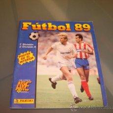 Coleccionismo deportivo: ALBUM CROMOS LIGA FUTBOL 89 PANINI . Lote 29520536