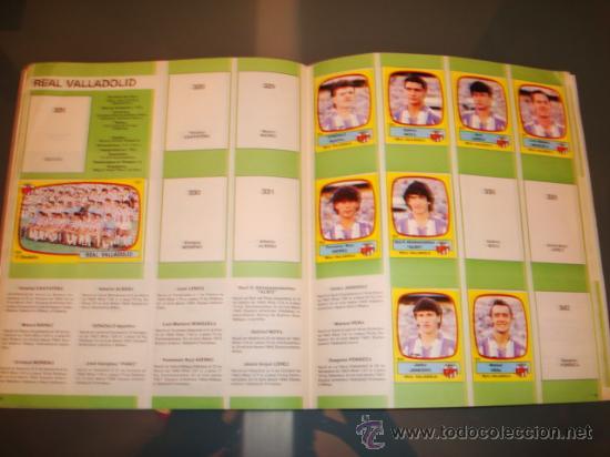 Coleccionismo deportivo: ALBUM CROMOS LIGA FUTBOL 89 PANINI - Foto 2 - 29520536