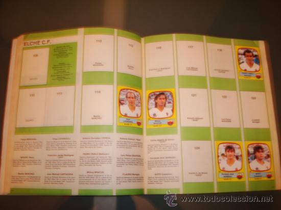 Coleccionismo deportivo: ALBUM CROMOS LIGA FUTBOL 89 PANINI - Foto 4 - 29520536