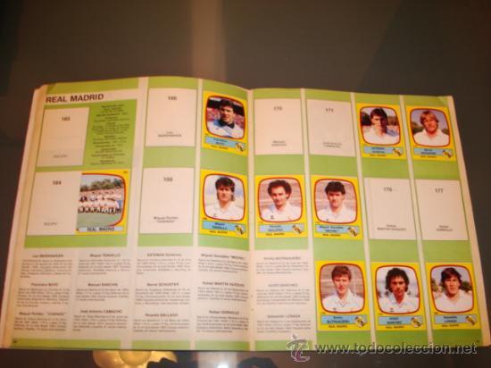 Coleccionismo deportivo: ALBUM CROMOS LIGA FUTBOL 89 PANINI - Foto 5 - 29520536
