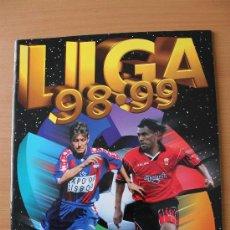 Coleccionismo deportivo: EXCELENTE ALBUM (COMPLETO) LIGA 1998 1999 EDICIONES ESTE FUTBOL 98 99 LEER ANUNCIO. Lote 166307173