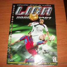 Coleccionismo deportivo: ALBUM ESTE LIGA 2006 - 2007 ( 06 - 07 ) ALBUM PLANCHA NUEVO. Lote 39633682