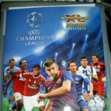 Coleccionismo deportivo: ALBUM FICHERO VACIO NUEVO CROMOS ADRENALYN XL UEFA CHAMPIONS LEAGUE 2011-2012 11-12 PANINI. Lote 29994429