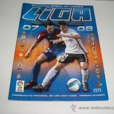 Coleccionismo deportivo: ALBUM FUTBOL LIGA 2007 2008 CONTIENE 31 CROMOS ESTE -. Lote 37920042