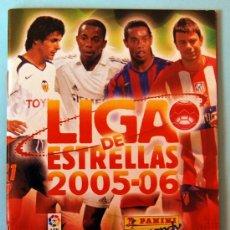 Coleccionismo deportivo: LIGA DE ESTRELLAS 2005-06 - ÁLBUM COLECCIÓN DE BOLSILLO - PANINI - NUEVO Y VACÍO. Lote 44934124