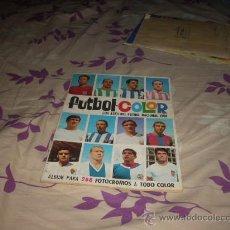 Coleccionismo deportivo: ALBUM DE FUTBOL COLOR 1968 VACIO. Lote 30410764