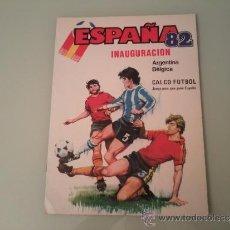Coleccionismo deportivo: ORIGINAL ÁLBUM MUNDIAL 82 CALCO FÚTBOL. Lote 30870164
