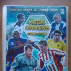 Coleccionismo deportivo: ALBUM ARCHIVADOR VACIO PANINI MEGACRACKS LIGA 2005-2006 - MEGA CRACKS 05/06 ORIGINAL. Lote 36106371