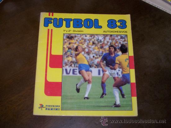 FUTBOL 83 - PANINI - SOLO TIENE 30 CROMOS (Coleccionismo Deportivo - Álbumes y Cromos de Deportes - Álbumes de Fútbol Incompletos)