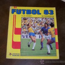 Coleccionismo deportivo: FUTBOL 83 - PANINI - SOLO TIENE 30 CROMOS. Lote 31071480