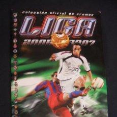 Coleccionismo deportivo: ALBUM DE CROMOS - LIGA 2006/2007 - CONTIENE 407 CROMOS - ESTE - . Lote 31083047
