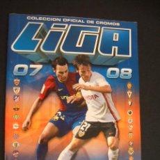 Coleccionismo deportivo: ALBUM DE CROMOS - LIGA 07/08 - CONTIENE 41 CROMOS - ESTE - . Lote 31083305