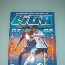 Coleccionismo deportivo: ALBUM LIGA 2007-2008. COLECCIÓN OFICIAL DE CROMOS. COLECCIONES ESTE. FUTBOL. Lote 31122171