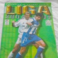 Coleccionismo deportivo: ED. ESTE, LIGA 2004-2005, FALTAN 120 CROMOS. Lote 31181152