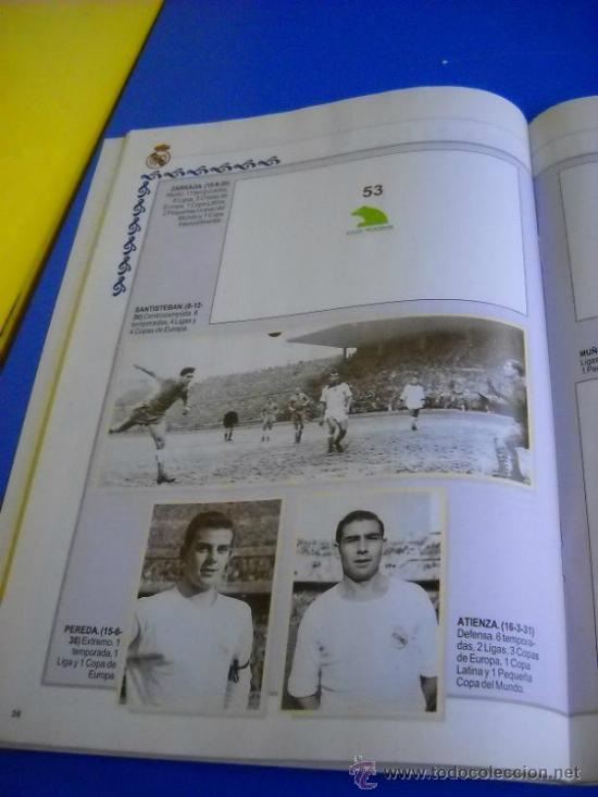Coleccionismo deportivo: ALBUM DE CROMOS REAL MADRID HISTORIA DE LAS 7 COPAS DE EUROPA ABC - Foto 4 - 31255402