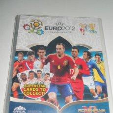 Coleccionismo deportivo: ALBUM FICHERO ADRENALYN INGLATERRA CROMOS VACIO EURO2012 EUROCOPA POLONIA UCRANIA EURO 2012 PANINI. Lote 31299510