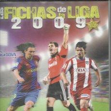 Colecionismo desportivo: ALBUM LAS FICHAS DE LA LIGA 2009 XV EDICION CON 665 CROMOS SOLO FALTA EL Nº 610. Lote 45374226
