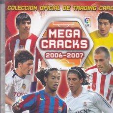 Coleccionismo deportivo: ALBUM PANINI MEGA CRACKS 2006-2007 CONTIENE 482 CROMOS . Lote 31350039