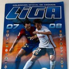 Coleccionismo deportivo: - ALBUM DE CROMOS DEL CAMPEONATO DE LIGA -2007 - 2008- COLECCIONES ESTE -FALTAN 29 FICHAJES- . Lote 37890466