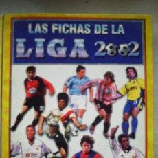 Coleccionismo deportivo: LAS FICHAS DE LA LIGA 2002 - 216 FICHAS - LIGA 1ª DIVISION -TEMPORADA 2001/2002-VER FOTOS. Lote 31502101