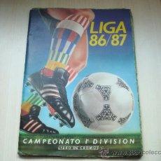 Coleccionismo deportivo: ALBUM EDICIONES ESTE 1986-1987 86-87 CASI VACIO 18 CROMOS . Lote 31556059