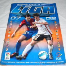 Coleccionismo deportivo: COLECCION OFICIAL DE CROMOS LIGA 2007-2008. Lote 31618970