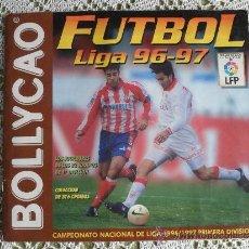 Coleccionismo deportivo: ALBUM BOLLYCAO FUTBOL 96 97 CON 202 CROMOS PEGADOS.. Lote 31711545