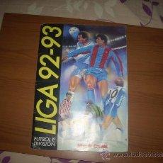 Coleccionismo deportivo: ALBUM DE LA LIGA 1992-93 DE ESTE. Lote 31877084