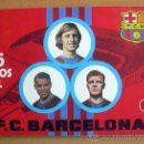 Coleccionismo deportivo: 75 AÑOS DEL F.C. BARCELONA - GRÁFICAS EXCELSIOR 1974 - VER FOTOS INTERIORES. Lote 31964742