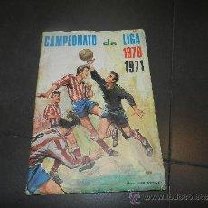 Coleccionismo deportivo: ALBUM CAMPEONATO DE LIGA 1970 / 1971 , DISGRA, EDT FHER , FALTAN 50 CROMOS , SEÑALES DE USO. Lote 32214900