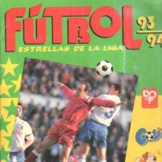 Coleccionismo deportivo: ALBUM INCOMPLETO FÚTBOL 93/94, ESTRELLAS DE LA LIGA, PANINI. Lote 32289315