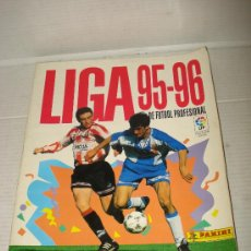 Coleccionismo deportivo: ANTIGUO ALBUM DE FUTBOL LIGA 95-96 DE PANINI . Lote 32370729