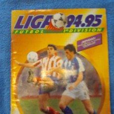 Coleccionismo deportivo: ÁLBUM CROMOS LIGA ESPAÑOLA DE FÚTBOL 94-95. Lote 32388905