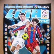 Coleccionismo deportivo: ALBUM DE CROMOS LIGA ESTE 2011 2012 - PANINI - LIGA BBVA ( NUEVO ). Lote 32459401