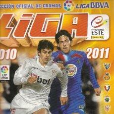 Coleccionismo deportivo: ALBUM DE CROMOS FÚTBOL 2010 2011 COLECCIONES ESTE PANINI: 337 CROMOS. Lote 32478637
