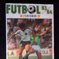 Coleccionismo deportivo: (AL-79)ALBUM CROMOS FUTBOL 83/84 1ªDIVISION EQUIPOS COMPLETOS,DOBLES Y ALGUN FICHAJE. Lote 32517197