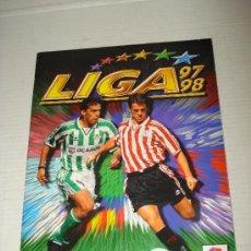 Coleccionismo deportivo: ALBUM DE FUTBOL LIGA 97-98 DE EDICIONES ESTE 1997 1998.. Lote 32605813