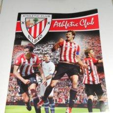 Coleccionismo deportivo: ALBUM DE CROMOS VACIO OFICIAL ATHLETIC BILBAO PLANCHA FOOTPRINT 2011 2012 11 12. Lote 161279172